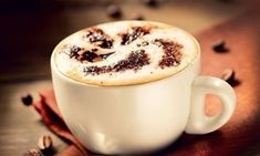Photo about Cappuccino. Cup of Cappuccino or Latte Coffee. Image of flavor, beautiful, cafe - 36923223 Pumpkin Spiced Latte Recipe, Pumpkin Spice Latte, Natural Energy Drinks, Coffee Around The World, Coffee Substitute, Coffee Enema, Coffee Stock, Cappuccino Coffee, Popular Drinks