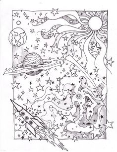 Coloring Space Page by usedfreak88.deviantart.com on @deviantART