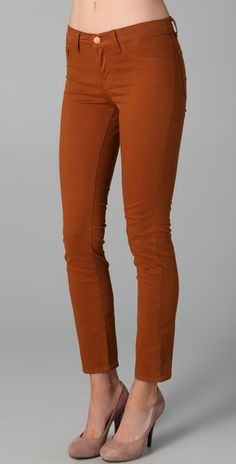 I would love to have a pair of pants this colour... preferably these jbrands... $177.65
