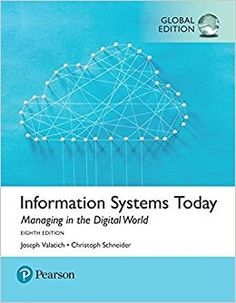 Management information systems 11th edition 9780136078463 ken information systems today managing the digital world global edition pdf instant download fandeluxe Gallery