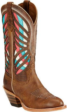Women's Ariat Gentry Round Toe Cowgirl Boot