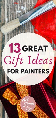 These are such great artist gift ideas! Finally a list of useful artist gifts... Always looking for great art materials and art supplies I don't already have!
