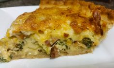 Cheddar, Beer and Broccoli Pie Recipe | Food Republic