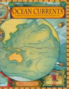 Ocean Currents for grades Weather Science, Weather Unit, Weather Activities, Hands On Activities, Science Activities, Science Experiments, Geography Map, Human Geography, 8th Grade Science