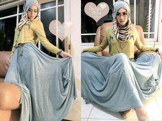 http://abayatrade.com   muslim fashion magazine  Islamic Fashion Dresses 2013 (cool. I like the skirt)