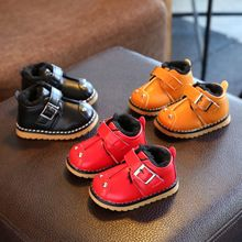 Winter Baby Boy Shoes Prewalker Soft