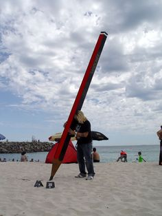 Pencil - Sculpture by the sea
