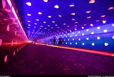 Glow Eindhoven 2011 - 14. Tunnel of Love by renesebastian, via Flickr