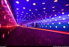 Glow Eindhoven 2011 - 14. Tunnel of Love by renesebastian, via Flickr