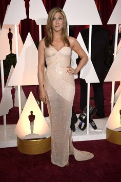 Arrivals at the 87th Annual Academy Awards- Jennifer Aniston