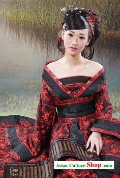 Suprême chinoise antique Set princesse vêtements complet pour les femmes