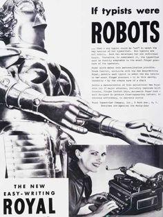 If Typists were robots