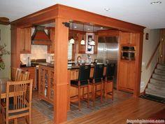 Tìm hiểu các mẫu tủ bếp có quầy bar đẹp
