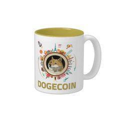 Dogecoin Around the World Mug