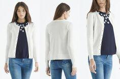 biały cardigan na Feegle Blouse, Long Sleeve, Sleeves, Tops, Women, Fashion, Moda, Long Dress Patterns, Fashion Styles