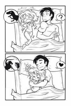 Wenn man einen an seiner Seite hat der denn anderen in den Arm nimmt wenn der andere einen Albtraum oder nicht schlafen kann ❤️