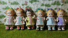 Muñecas de Marisa Madejón  hechas en tm