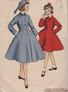 Выкройка пальто для девочки - вот отличный шанс привлечь подрастающее поколение к кройке и шитью 18 фотографий | svoimi-rukami-club.ru