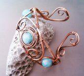 Bracciale in rame regolabile #handmade #plummy #bijoux #jewelry #faitmain #fashion