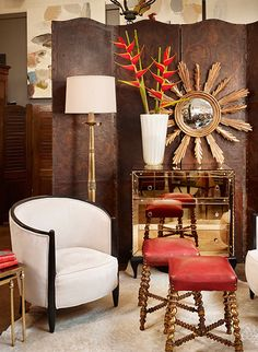 Read more about A Nice Guy Selling Antiques in Austin on @1stdibs | http://www.1stdibs.com/introspective-magazine/jean-marc-fray/
