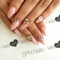 SPN UV LaQ 507 Pink French & Bijou   Nails by Asia, Lejdis Nail SPA, SPN Team Zielona Gora ❤