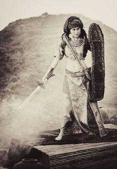 Female Moro Warrior (Philippines)