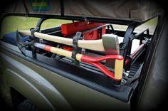 apex pack rack ax-shovel mount