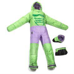 hulk sleeping bag