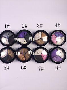 Maquiagem 3 Colors Paleta De Sombra Glitter Eye Shadow Professional Naked Palette Eyeshadow Brush Makeup Set-in Eye Shadow from Health & Beauty on Aliexpress.com   Alibaba Group