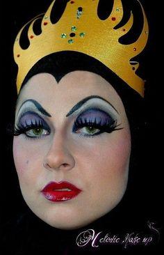 Bildresultat för snow white witch makeup