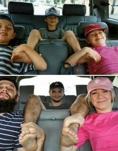 20 Recreated Family Photos That'll Make Your Face And Heart Smile