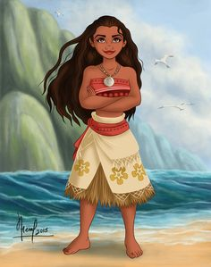 This is a gift for my friend My Facebook : www.facebook.com/pages/Fernl/5… Moana © Disney