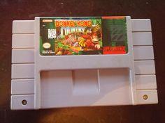 USED Super Nintendo Donkey Kong Country - Lightning-Deals.com Store www.lightning-deals.com #lightningdeals #lightningco @buylightning Text: 281-764-9228