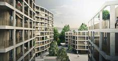 Construction de logements dans le quartier Bérée 2 – Fiches Nord à Lausanne – Lot 11