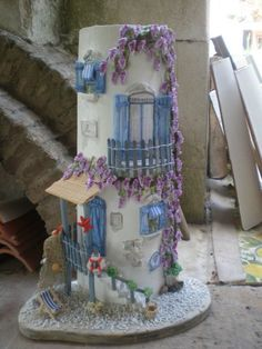 casetta su tegola verticale La marina