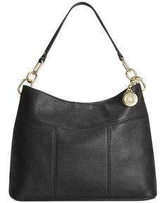 f096ee053 Tommy Hilfiger Th Signature Leather Small Hobo Tommy Shop, Hobo Handbags,  Hobo Bags,