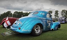 Head Hunter - Pro Street Willys Coupe - 2010 NSRA Billing Fun Run | by Motorsport in Pictures