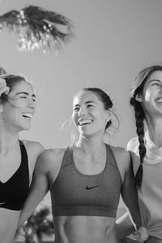UNITED WE SWEAT SPOTIFY PLAYLIST // Get a boost for your gym crew with everything from pop anthems to electronic beats. This NikeWomen playlist has something for every girl you sweat with.