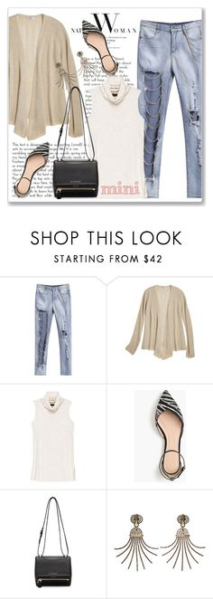 """""""Sweet Mini Handbags"""" by andrejae ❤ liked on Polyvore featuring Calypso St. Barth, Bobeau, J.Crew, Givenchy, Lanvin and Minime"""