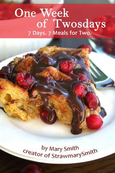 Cranberry Croissant Bread Pudding with Nutella Glaze is the BEST brunch dish for the holiday season. It will seriously melt in your mouth! Get the recipe:. Bread Pudding With Croissants, Croissant Bread, Best Brunch Dishes, Brunch Recipes, Mango Avocado Salad, Lemon Thyme Chicken, Cranberry Dessert, Blueberry Bread, Meat And Cheese