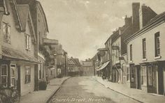 Church Street, Newent, Gloucestershire 1910. Some of my ancestors were from Newent - if you're researching the surnames Leighton or Layton, do get in touch! esjones <at> btopenworld.com