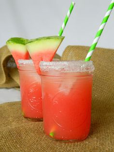 {fresh watermelon margaritas} w/ orange zest, lime juice, white tequila. @alyson paige idea: replace water w/ lime or orange @LaCroix Sparkling Water to add some effervescence. #cocktail #summer
