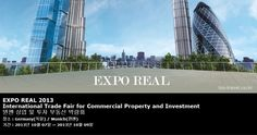 EXPO REAL 2013 International Trade Fair for Commercial Property and Investment 뮌헨 상업 및 투자 부동산 박람회