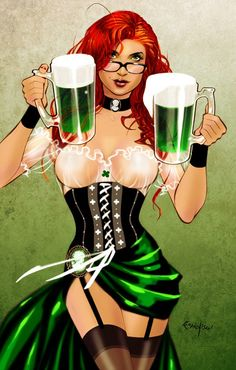 St Paddy's Girl ~ by Franchesco