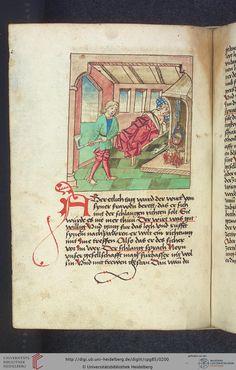 Cod. Pal. germ. 85: Antonius von Pforr: Buch der Beispiele (Schwaben, um 1480/1490), Fol 96v