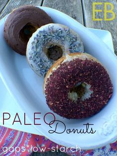 PALEO DONUTS ~ GAPS-friendly (and... a cookbook GIVEAWAY!) - Eat Beautiful