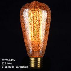 E27 40W Vintage Retro Filament Edison Tungsten Light Bulb Antique Style Lamp LED in Home, Furniture & DIY, Lighting, Light Bulbs | eBay