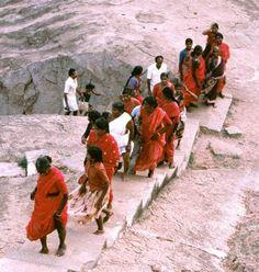 Steine sind das Markenzeichen von Mamallapuram