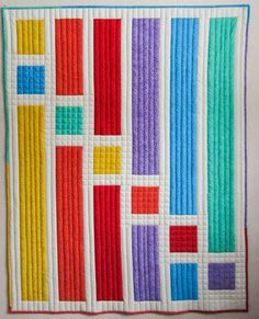 QUILTS: solid colors on Pinterest