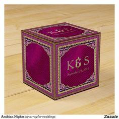 Arabian Nights Wedding Favor Boxes